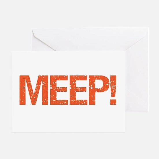 Meep Greeting Card