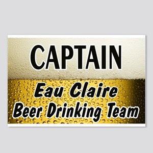 Eau Claire Beer Drinking Team Postcards (Package o
