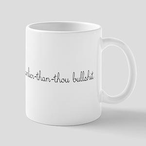 manlier than thou Mugs