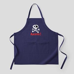 Arrrr! Funny Pirate Apron (dark)