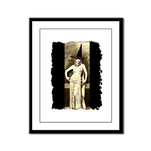 Witch Goddess Framed Panel Print