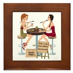 Seminole Sushi Girls Framed Tile