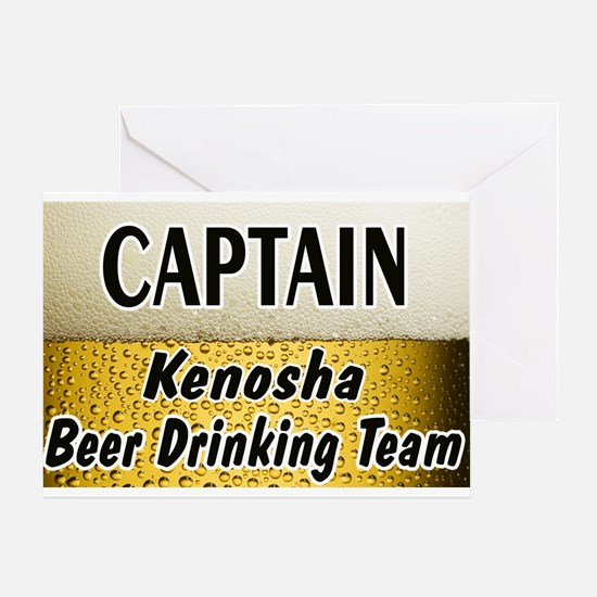 Kenosha Beer Drinking Team Greeting Card