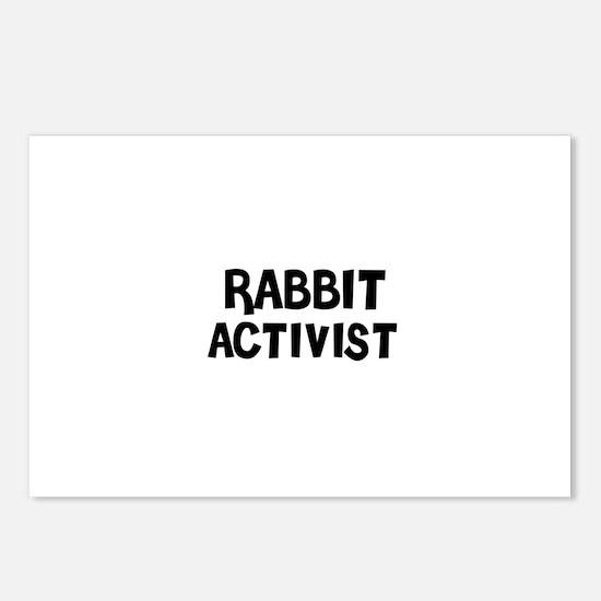 RABBIT ACTIVIST Postcards (Package of 8)