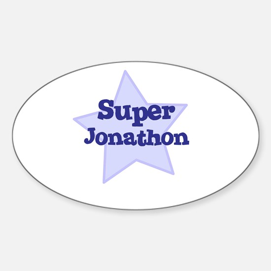 Super Jonathon Oval Decal