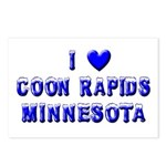 I Love Coon Rapids Winter Postcards (Package of 8)