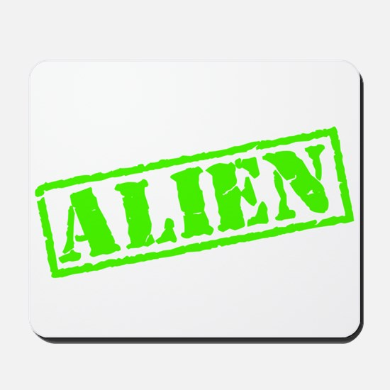 Alien Stamp Mousepad
