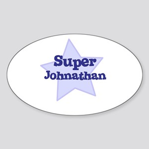Super Johnathan Oval Sticker