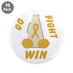 Gold WIN Ribbon 3.5