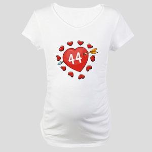 44th Valentine Maternity T-Shirt