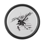 Son of the Wind Large Wall Clock