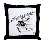 Son of the Wind Throw Pillow