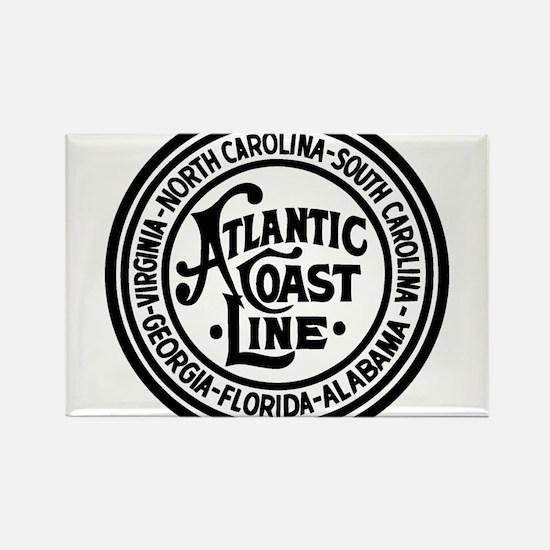 Atlantic Coast Rwy six states Magnets