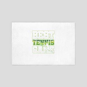 Best Tennis Game Gameplay Ball Player 4' x 6' Rug