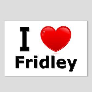 I Love Fridley Postcards (Package of 8)