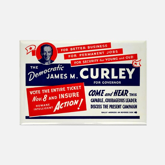 James Michael Curley Rectangle Magnet