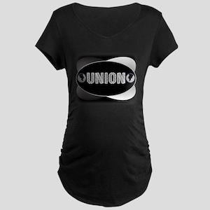 UNION -B Maternity Dark T-Shirt