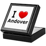 I Love Andover Keepsake Box