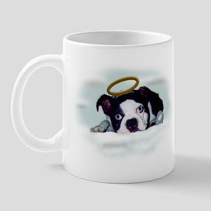BOSTON TERRIER ANGEL LOOK Mug