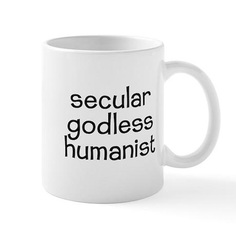 Secular Godless Humanist Mug
