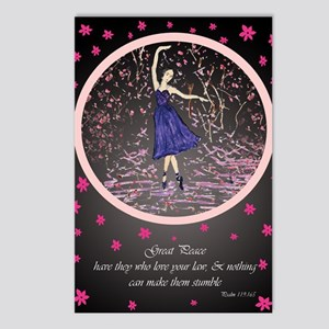 Ballerina Christian Postcards (Package of 8)