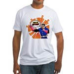 Grab his Baptism! Fitted T-Shirt