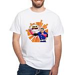 Grab his Baptism! White T-Shirt