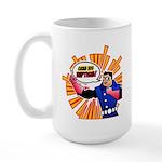 Grab his Baptism! Large Mug