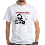 Reformation Police White T-Shirt