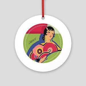 Alluring Gypsy Dancer Ornament (Round)