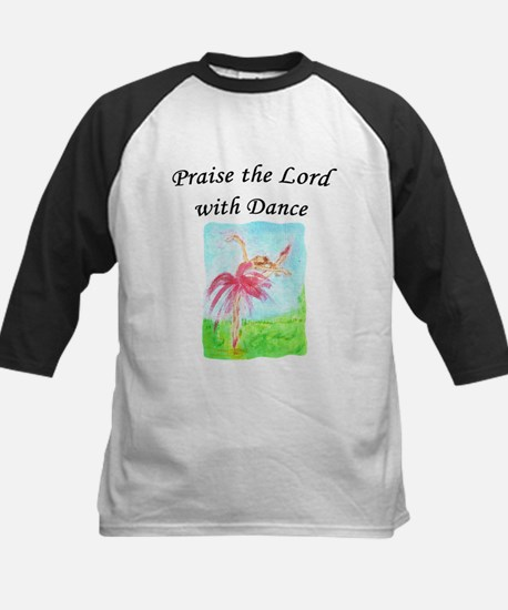 Praise the Lord with Dance Kids Baseball Jersey