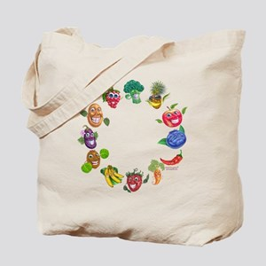 vegetables and fruits Tote Bag