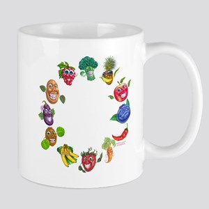 vegetables and fruits Mug