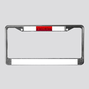 Lab Techs Do It With Chemistry License Plate Frame