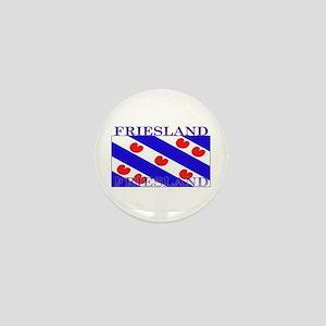 Friesland Frisian Flag Mini Button