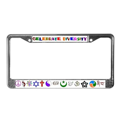 Embrace Creation License Plate Frame
