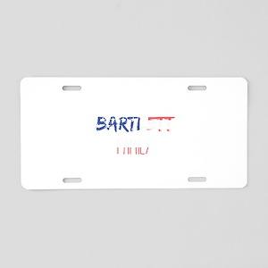 Bartlett Family Aluminum License Plate