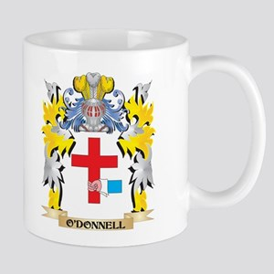 O'Donnell Family Crest - Coat of Arms Mugs