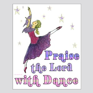 Praise the Lord with Dance Small Poster