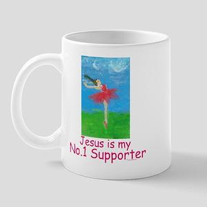 Jesus is my No.1 supporter Mug