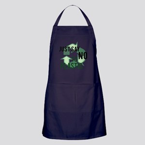 Just Say No to Plastic Apron (dark)