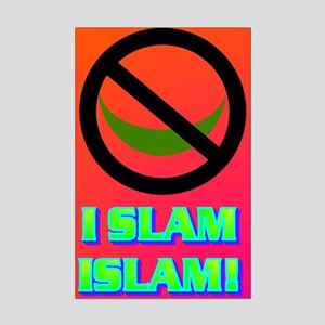 I SLAM ISLAM! Mini Poster Print