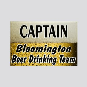 Bloomington Beer Drinking Team Rectangle Magnet