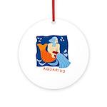 Aquarius  Ornament (Round)