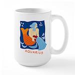 Aquarius  Large Mug