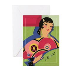Alluring Gypsy Dancer Greeting Cards (Pk of 20)