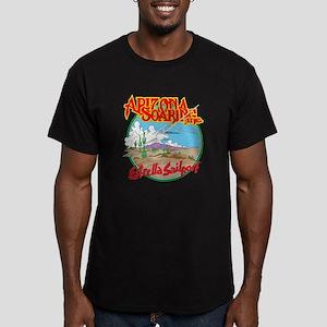 AZ.SOARING Inc. Men's Fitted T-Shirt (dark)