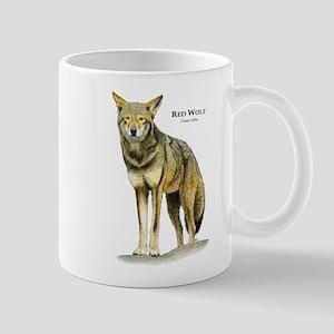 Red Wolf Mug