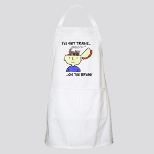 Trains On The Brain Apron