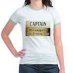 Minneapolis Beer Drinking Team Jr. Ringer T-Shirt